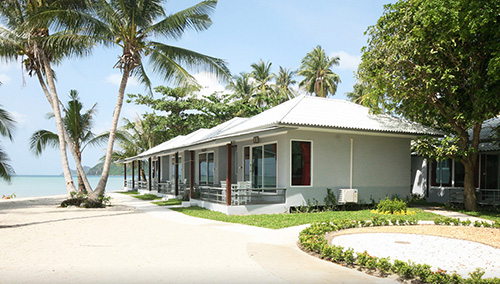 beachfront bungalows